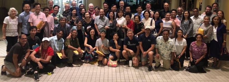 Encouraging the Saipan Pastors!