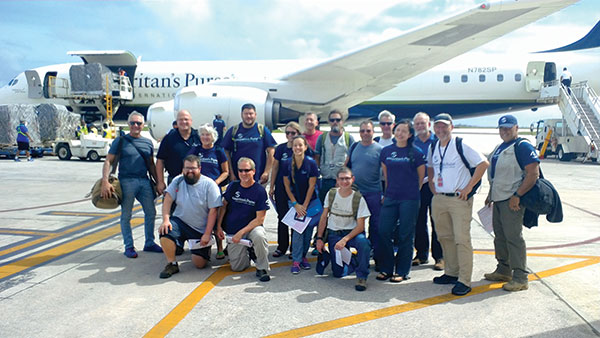 Our Team's first steps on the ground in Saipan!